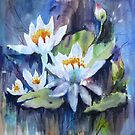 Wasserlilien von bevmorgan