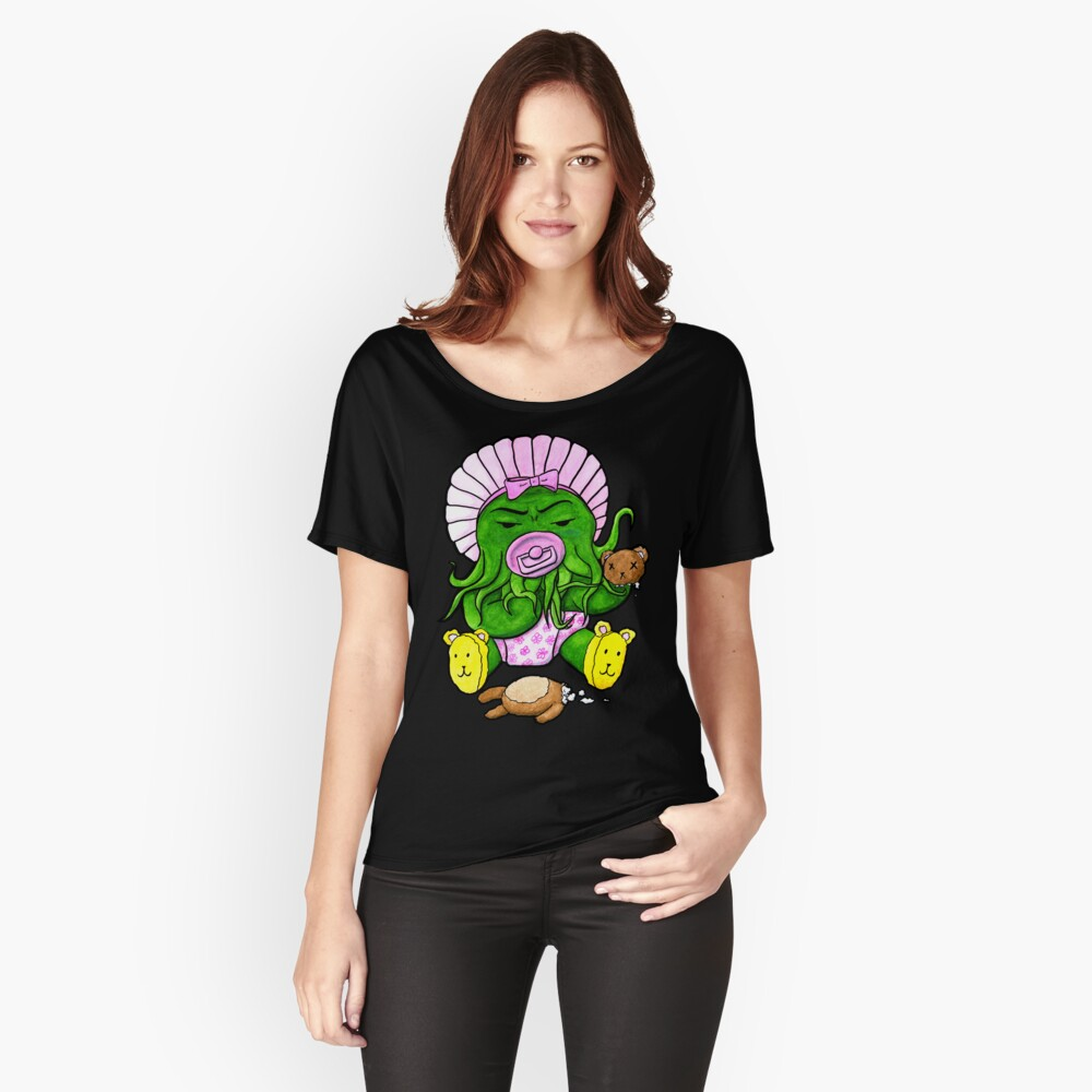Baby Cthulhu Wants Revenge Relaxed Fit T-Shirt