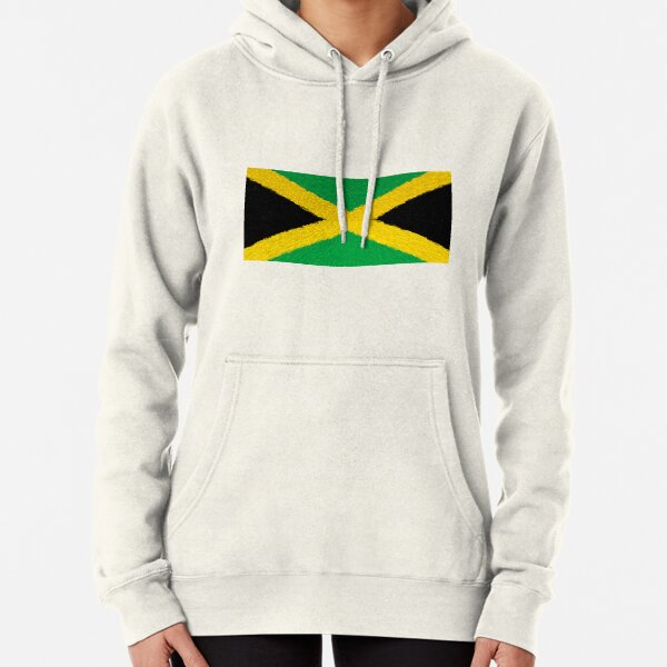 Flag of Jamaica - Extruded Pullover Hoodie
