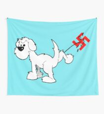 DOG - Fuck The Hate Wall Tapestry