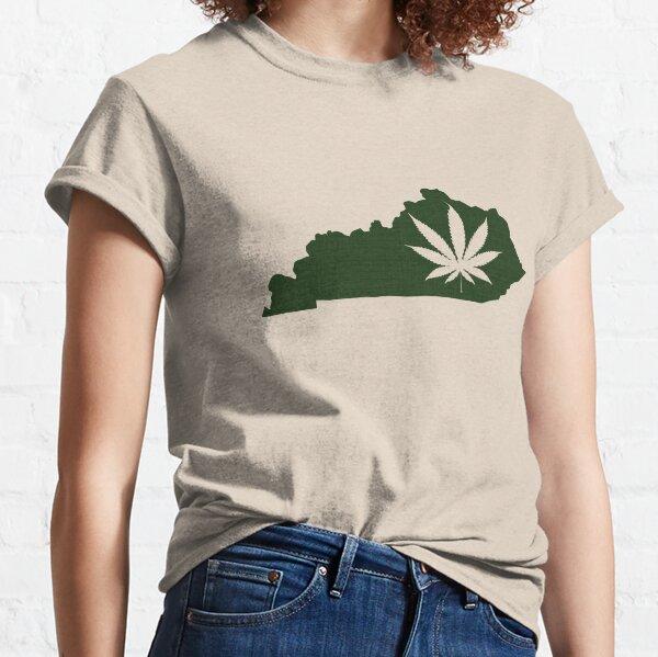 Marijuana Leaf Kentucky Classic T-Shirt