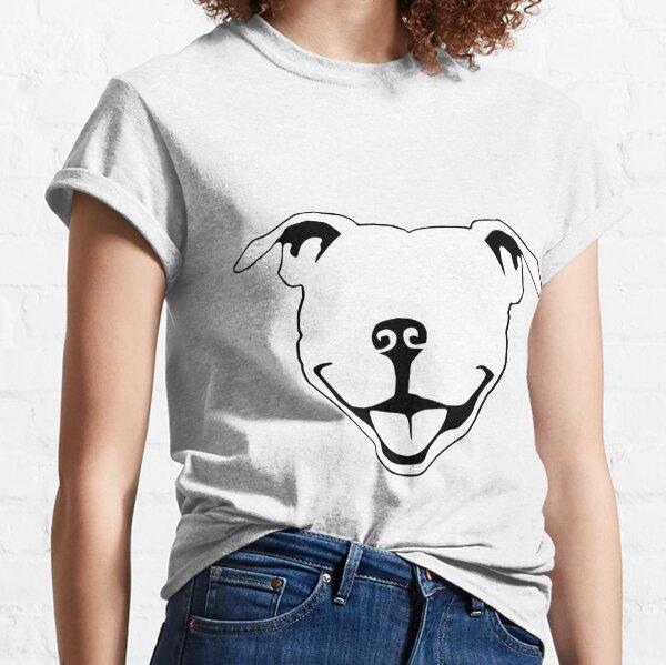 Pitbull Smile Classic T-Shirt