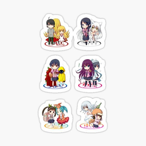 Bakemonogatari Pack 3 Sticker