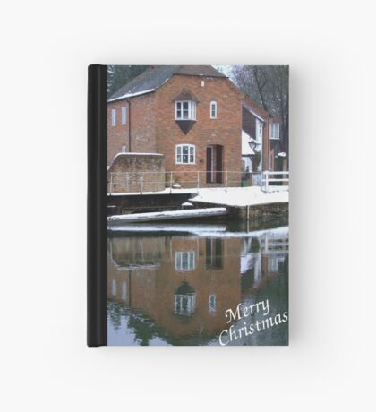 Reflections - Christmas Card Hardcover Journal