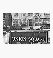 Union Square Photographic Print