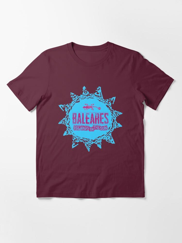 Alternative Ansicht von Balearen Essential T-Shirt
