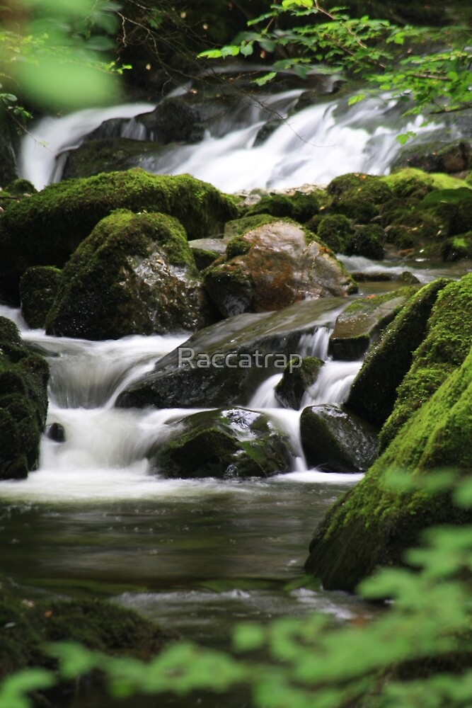 Waterfall 2 by Raccatrap