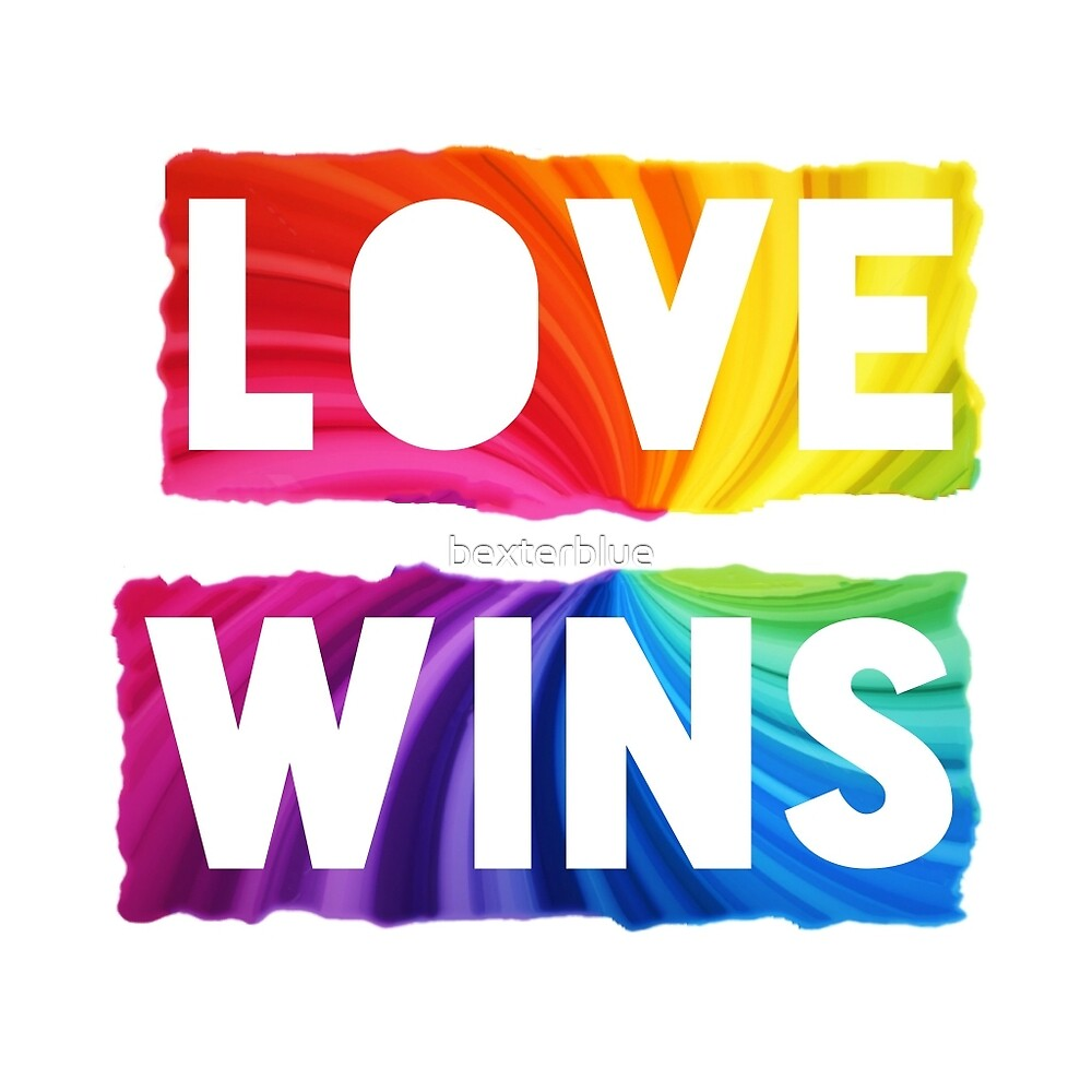 Love Wins by bexterblue