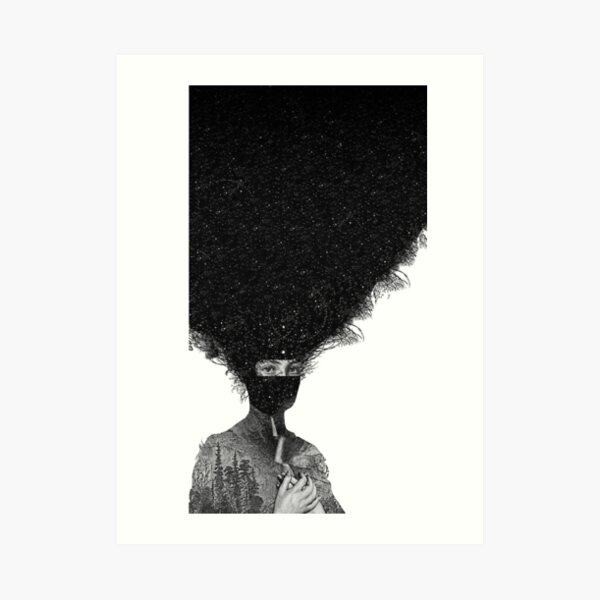 Royal Blood Album Cover How did we get so dark Art Print