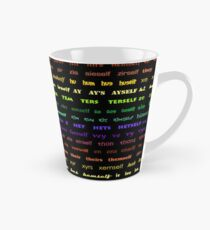 New Pronouns by Hypersphere Tall Mug