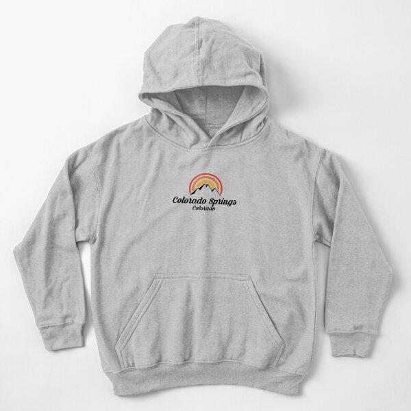 Durango Retro Camping Youth Hoodie Colorado Kids Sweatshirt