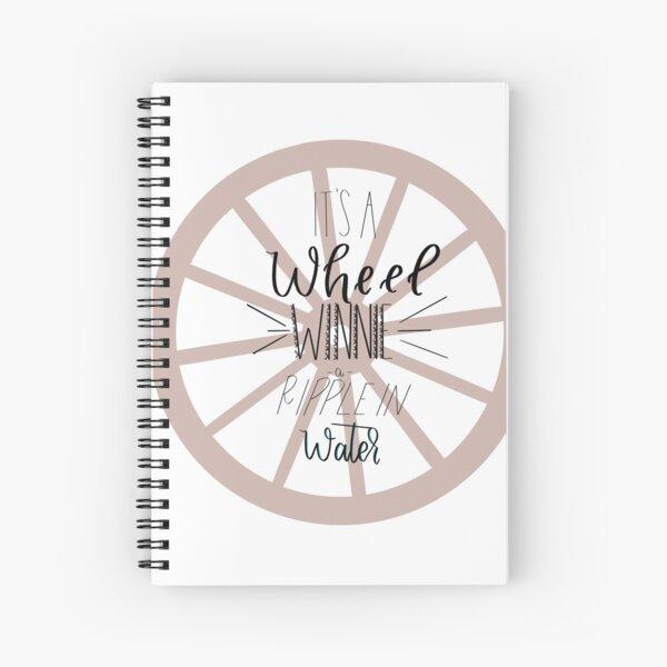 """Tuck musical de siempre """"The Wheel"""" Cuaderno de espiral"""