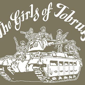 The Girls of Tobruk by b24flak
