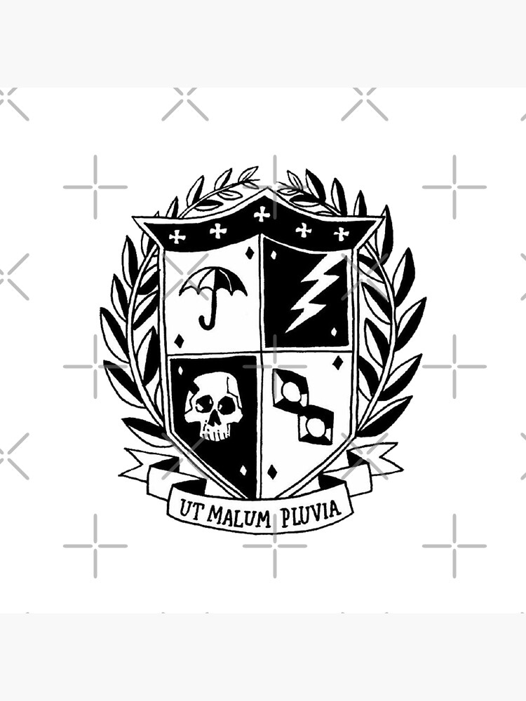 the umbrella academy crest by nuwandas