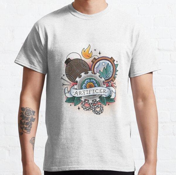 Artificer - Vintage D&D Tattoo Classic T-Shirt