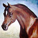 Arabian Stallion 1 by Joseph Barbara