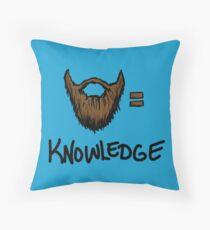 Bart = Wissen Dekokissen