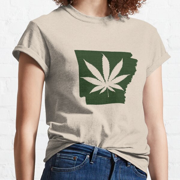 Marijuana Leaf Arkansas Classic T-Shirt