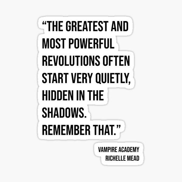 Vampire Academy - Revolutions-Zitat Sticker