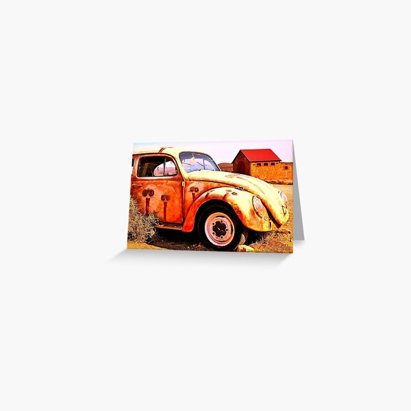 Quirky Cars of The Outback #3 Greeting Card