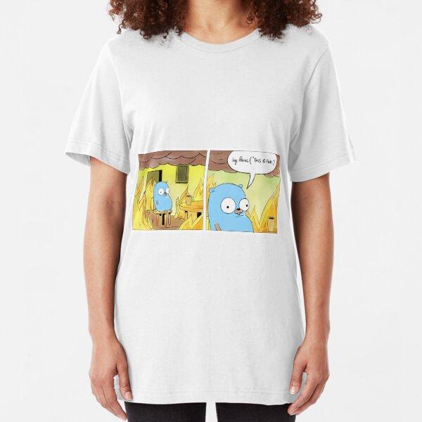 Esto esta bien Camiseta ajustada