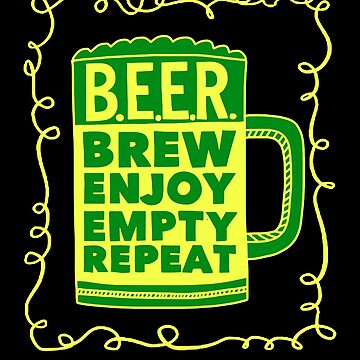 Beer brew empty repeat by schnibschnab