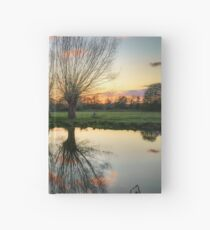 Autumn on the River Stour Hardcover Journal