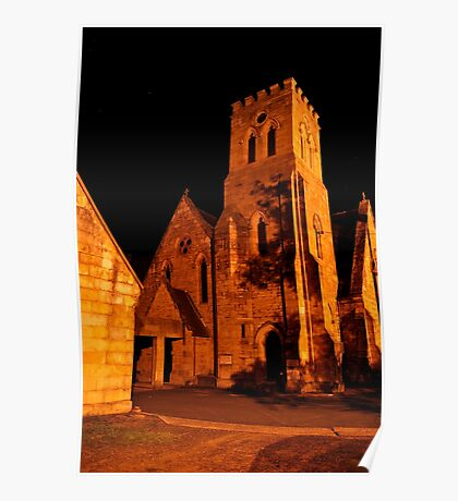 Holy Trinity Anglican Church ~ Peace of the Night Poster