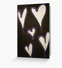 Heavy Hearts Greeting Card