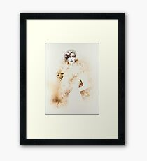 """""""Inspiration"""" Painting in Oils Framed Print"""