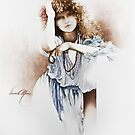 """""""Lovely Hippy"""" Painting in Oils by Sara Moon"""