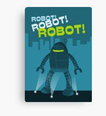 Robot! Robot! Robot! Canvas Print