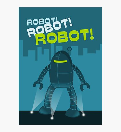 Robot! Robot! Robot! Photographic Print