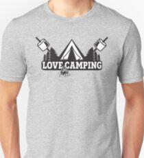 Love Camping T Shirt Unisex T-Shirt