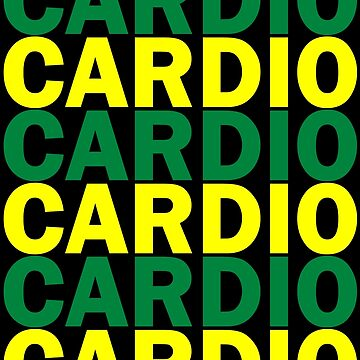 Cardio Australia Green and Gold by Auchmithie49