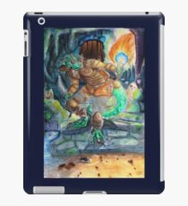 Elder Scrolls Oblivion: Argonian in the Cave iPad Case/Skin