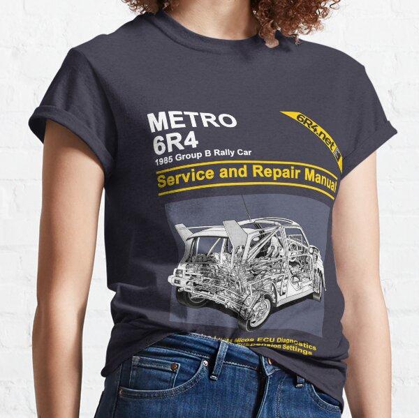 MG Metro 6R4 Repair Manual Classic T-Shirt