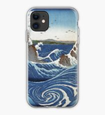 Naruto Whirlpool - Japanese Waves iPhone Case