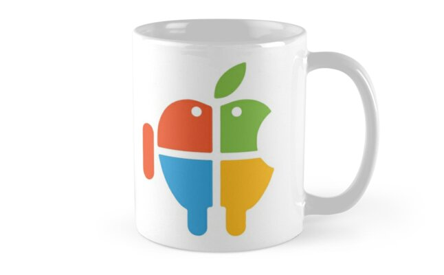 Freaky Logo - windows apple android by cadcamcaefea