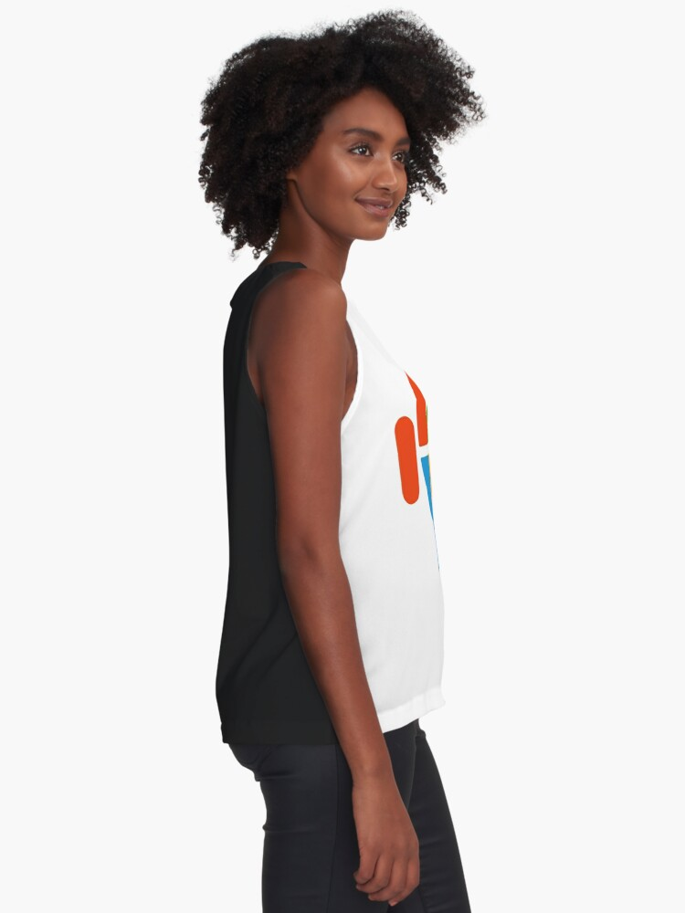 Alternate view of Freaky Logo - windows apple android Sleeveless Top