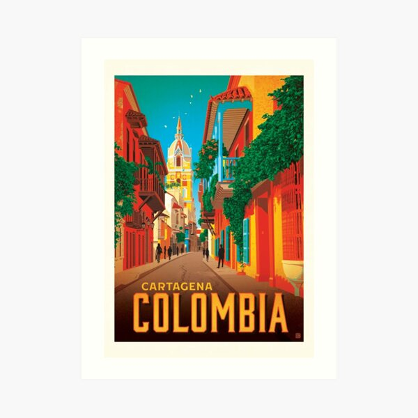 Colombia Cartagena Art Print
