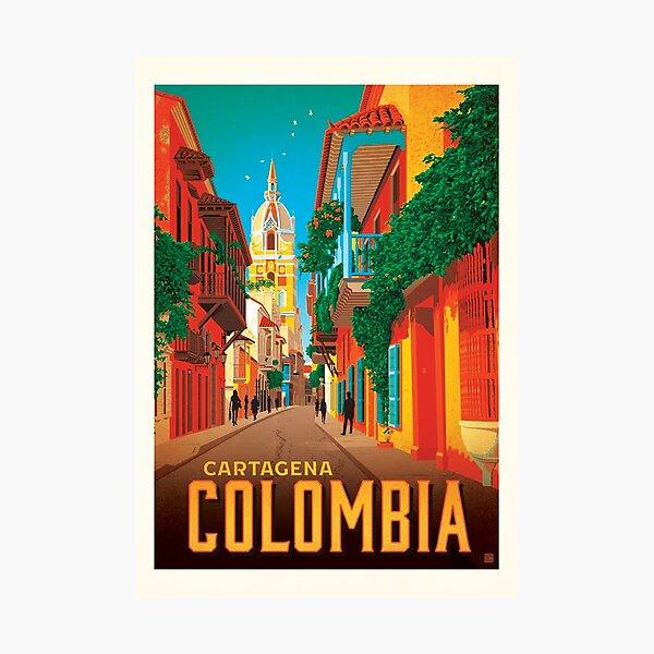 Colombia Cartagena Photographic Print