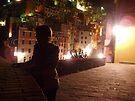 Riomaggiore at night by erwina
