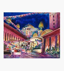 Sunway Play By Night Photographic Print