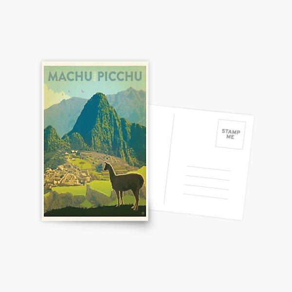 Machu Pichu Peru Postal
