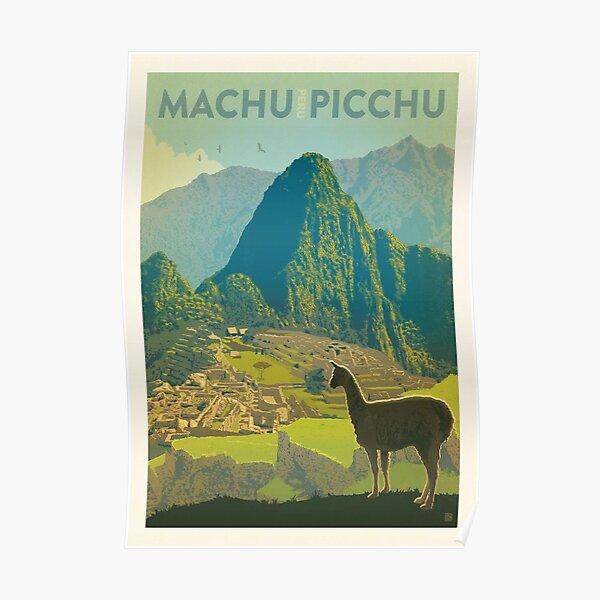 Machu Pichu Peru  Poster