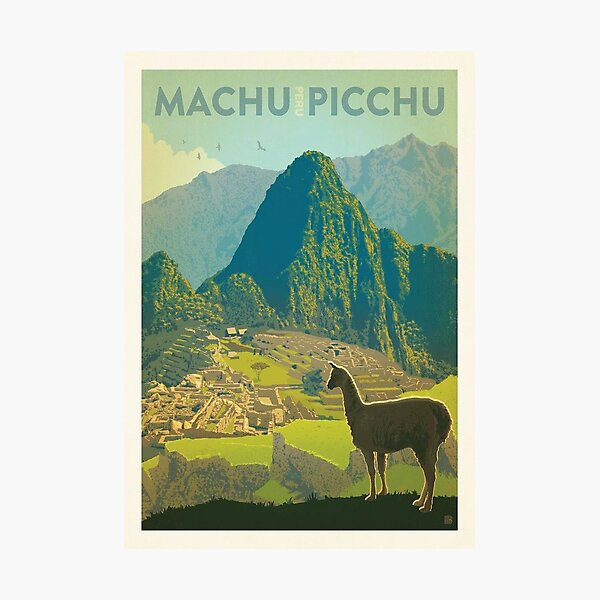 Machu Pichu Peru  Photographic Print