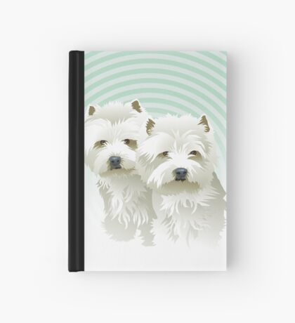 westies (mother and daughter) Hardcover Journal