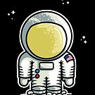 Cute Astronaut by Fiona Reeves