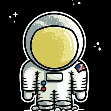 Cute Astronaut by freeves
